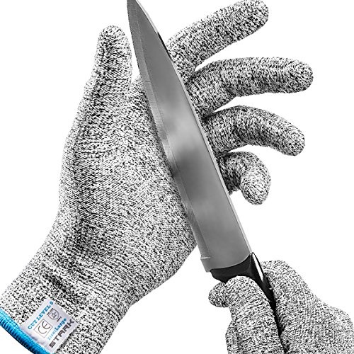 Cut Resistant Gloves,HECARE Safety Kitchen Cuts Gloves for Oyster Shucking,...