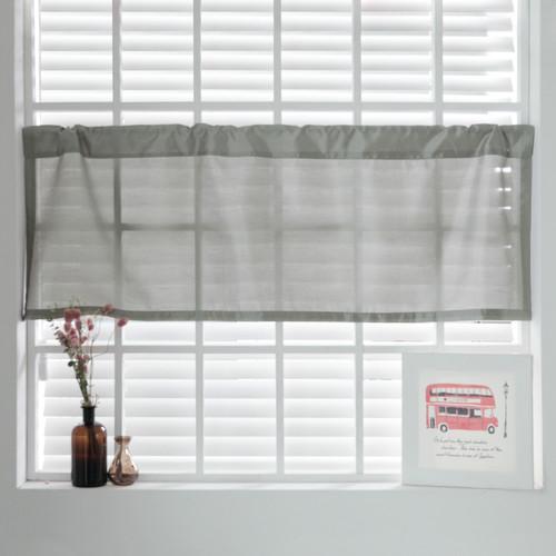 Best home fashion inc faux silk curtain valance walmart com