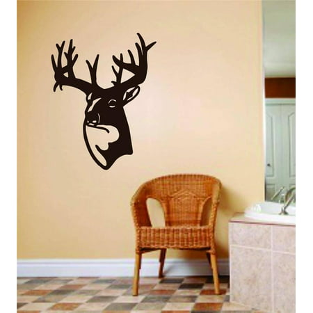 Wall Design Pieces Mule Sika Red White Tailed Deer Face 8 X12