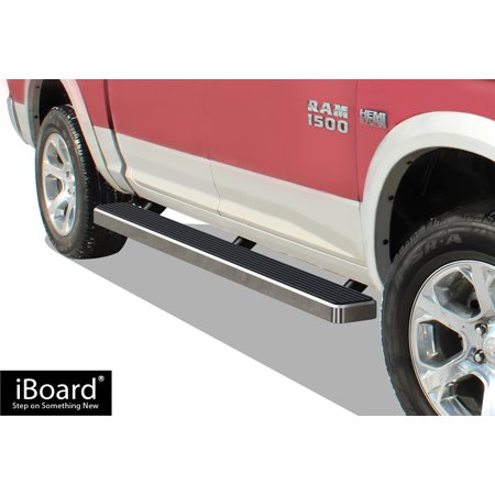 iBoard Running Board For Dodge RAM Extended Cab 2 Full + 2 Narrow Doors