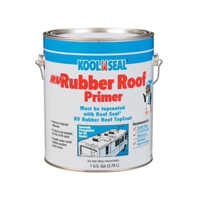 Kool Seal RV Primer KS0034600-16 Elastomeric Base Coat  Grey - pack of 4