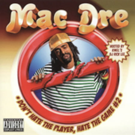 Mac Dre Presents: Don't Hate The Player Hate The Game #2 (CD) (explicit)