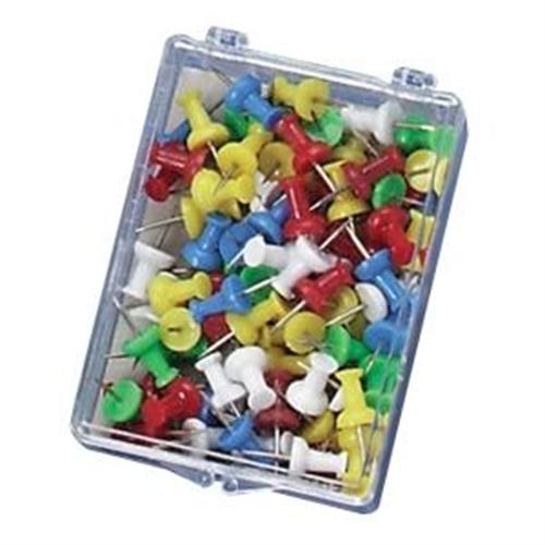 OIC Plastic Precision Push Pins 92610