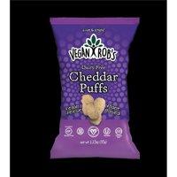 Vegan Robs 816678020178 1.25 oz Dairy Free Cheddar Puffs - 24 Piece