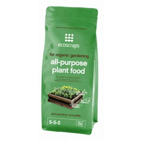 EcoScraps Organic All Purpose Plant Food 4lb