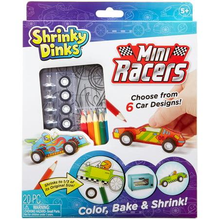 Shrinky Dinks Kit-Mini Racers - Shrinky Dinks Instructions
