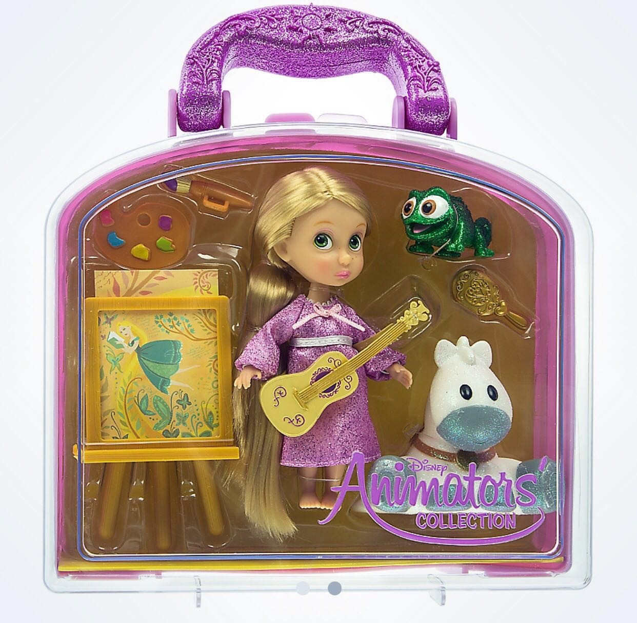 Disney Animators' Collection Rapunzel & Friends Mini Doll Play Set New with Case by