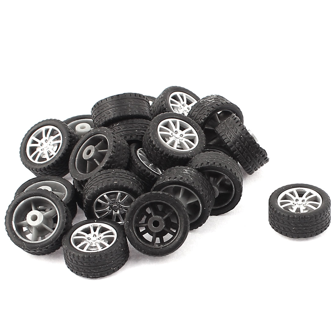 Rc Cars Truck Parts 18mm Plastic Hub Drift Wheel Tire 20pcs