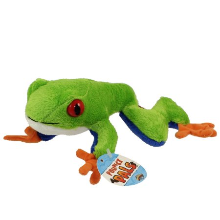 Adventure Planet Plush Pounce Pal - RED EYE TREE FROG ( 6.5 inch (Red Frog)