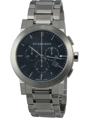 Product Image Burberry Black Dial Chronograph Stainless Steel Men s Watch  BU9351 c56873b9d9f
