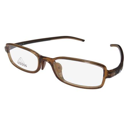 New Adidas A010 Unisex/Boys/Girls/Kids Designer Full-Rim Brown Popular Style Must Have For Boys & Girls Frame Demo Lenses 49-16-140 Eyeglasses/Eye (Girls With Eye Glasses)