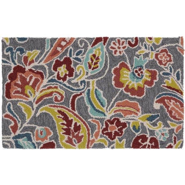 "Mohawk Home Jacobean Curls Memory Foam Kitchen Mat, 18"" x 30"""
