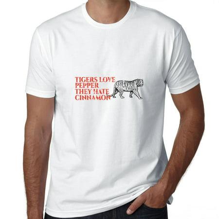 Tigers Love Pepper They Hate Cinnamon Men's