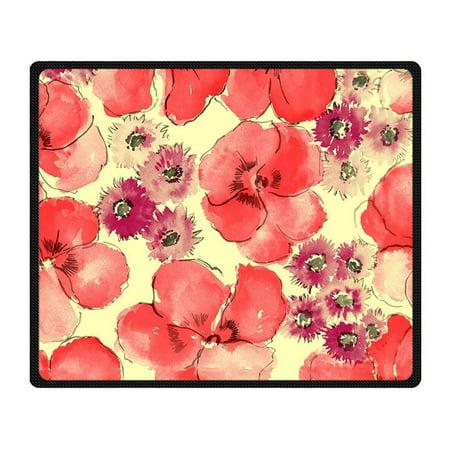RYLABLUE Sakura Blanket Fleece Throw Blanket for Sofa or Bed 58x80 inches - image 3 of 3