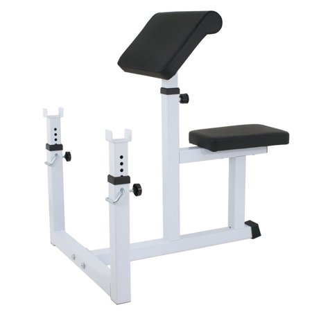 Ktaxon Adjustable Preacher Arm Curl Bench, 48