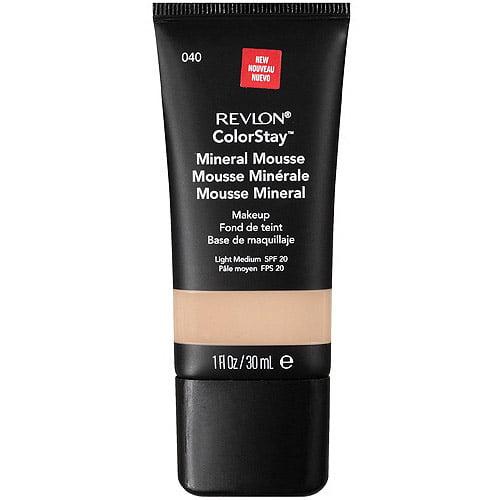 Revlon Colorstay Mineral Mousse Makeup, Light Medium 040, 1 fl oz