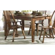 "Liberty Furniture Treasures 36"" x 60"" Dining Table in Rustic Oak"