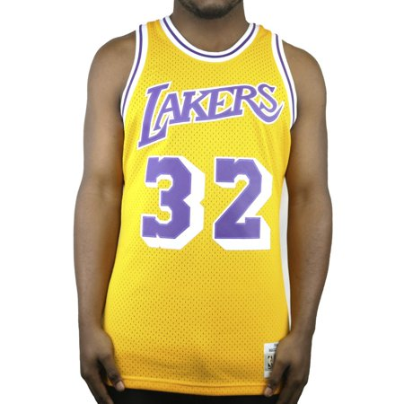 huge discount 8263e 6b139 Mitchell & Ness Swingman Lakers Magic Johnson Jersey