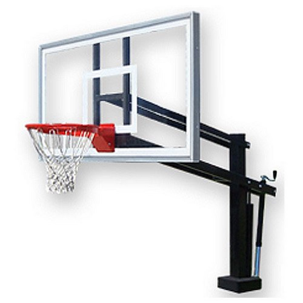 First Team HydroShot Select Adjustable Swimming Pool Basketball Hoop System