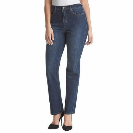 - Gloria Vanderbilt Women's Amanda Slimming Stretch Tapered Leg Denim Jeans (Scottsdale, 16 Short)