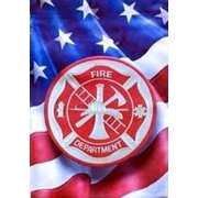 "Fire Department Garden Flag Fireman Double Sided Red Carpet Studios 12.5"" x 18"""