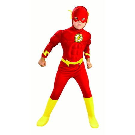 Red Jumpsuit Halloween Costume (Rubies Flash Muscle Chest Boys Halloween)
