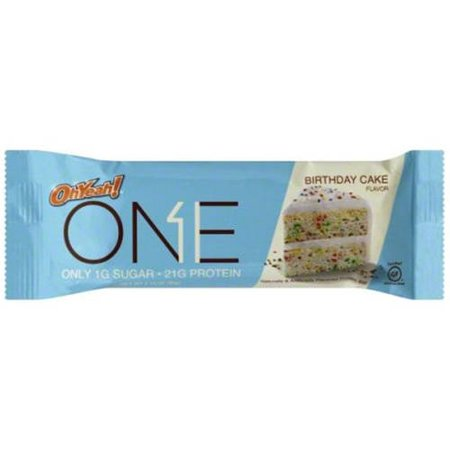 Oh Yeah One Bar Birthday Cake 22g Protein 12 Ct