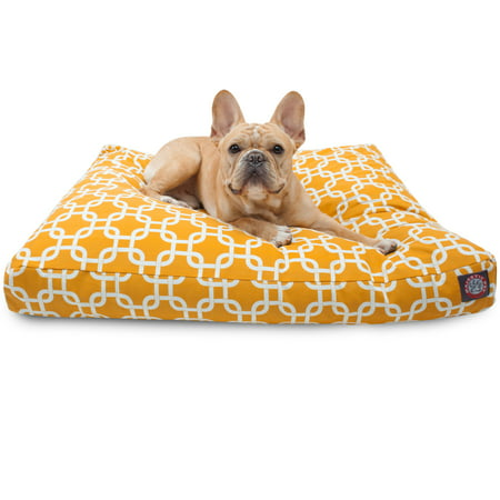 Majestic Pet Links Rectangle Dog Bed Treated Polyester Removable Cover