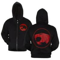 Thundercats Symbol Zip-Up Hoodie