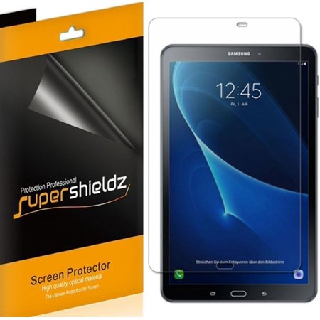 [3-Pack] Supershieldz for Samsung Galaxy Tab A 10.1 (SM-T580/T587 Model 2016 Release) Screen Protector, Anti-Glare & Anti-Fingerprint (Matte)