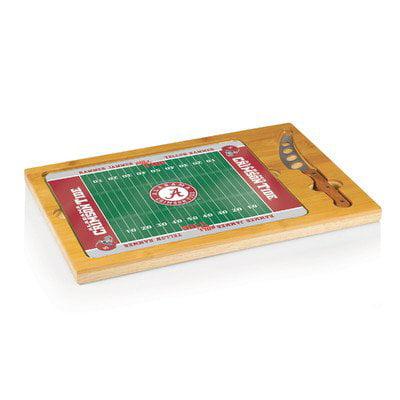 Picnic Time 910-00-505-004-0 University of Alabama Crimson Tide Plateau de planche - d-couper Icon-Football avec impression num-rique - image 1 de 1