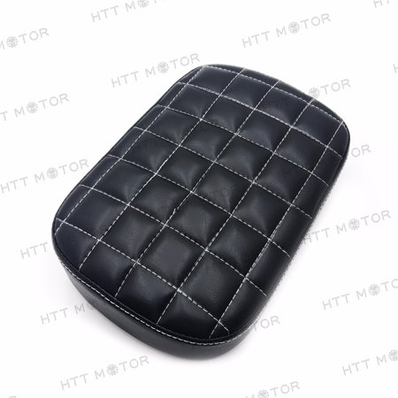 HTTMT- Rear Pillion Passenger Pad Seat 6 Suction Cup for Harley Dyna Sportster XL 883