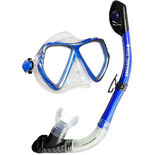 Regal LX Tuscan Snorkel Set, Blue