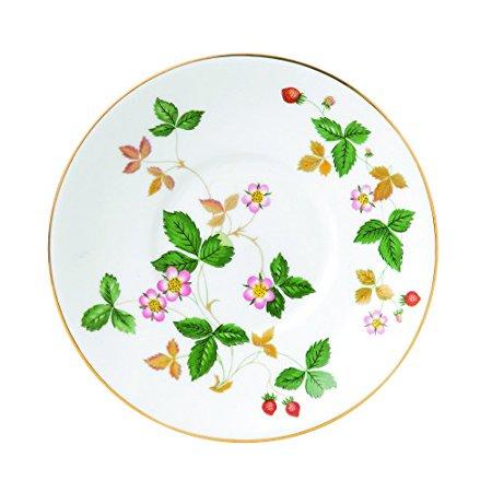 Waterford Wild Strawberry Tea Saucer, (Iris Tea Saucer)