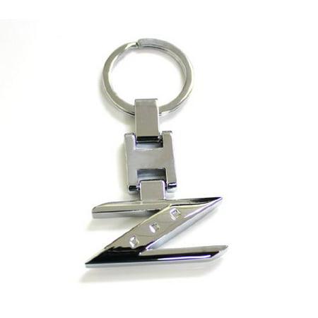 Nissan 350z Chrome Rims - iJDMTOY Chrome Finishing Letter Z Key Chain Ring For Nissan 240ZX 280ZX 300ZX 350Z 370Z Z Car