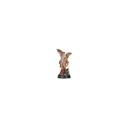 Saint Michael Archangel - George S. Chen Imports 5-Inch Saint Michael the Archangel Holy Figurine Religious Decoration