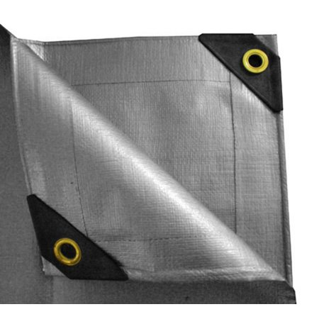 UST Inc. 10 x 15 Heavy Duty Canopy Tarp - Silver