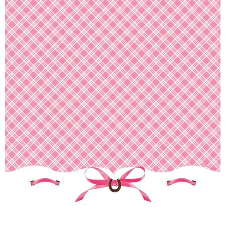 Party Creations Heart My Horse Plastic Tablecover, Border Print, 54