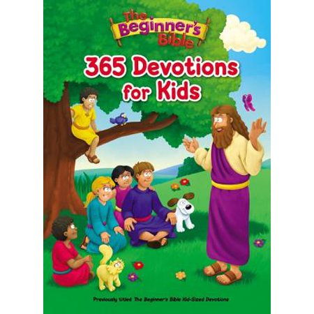 The Beginner's Bible 365 Devotions for Kids (Hardcover) - Bible Crafts For Kids