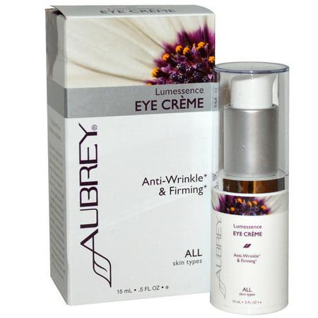 Aubrey Organics Skin Care - Aubrey Organics  Lumessence Eye Cream  All Skin Types   5 fl oz  15 ml