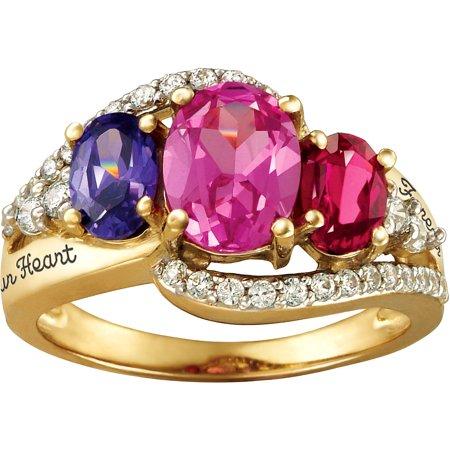 personalized keepsake celestial mother 39 s birthstone ring. Black Bedroom Furniture Sets. Home Design Ideas