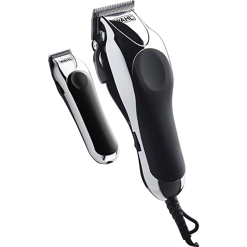 WAHL Deluxe Chrome Pro Clipper and Compact Trimmer Kit, Model 79524-1001