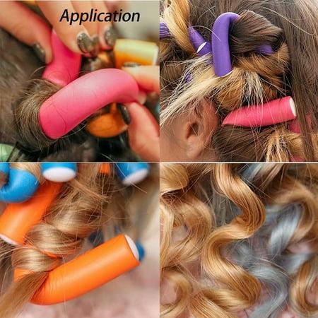 Flexible Curling Rods 42pcs Hair