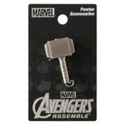 Thor Hammer Pewter Collectible Lapel Pin