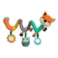 Infantino Spiral Stroller/ Car Seat Activity Toy, Fox