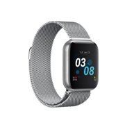 iTouch Air 3 Smartwatch Fitness Tracker Heart Rate Step Counter Sleep Monitor Message IP68 Swimming Waterproof for Women and Men, up to 30 day Battery Touch Screen Compatible with Android & IOS (44mm)