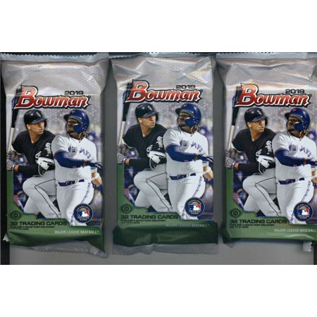 2019 Bowman Baseball Jumbo 3 Packs 32 Cardspack