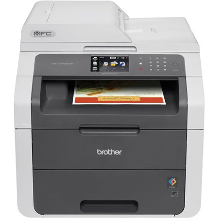 Brother MFC-9130CW Digital Color All-in-One with Wireless Networking Printer Copier Scanner Fax Machine by