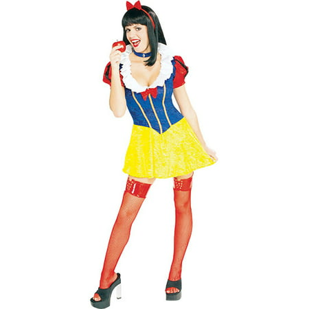 Adult Sexy Snow White Costume Rubies 56102](Snow White Adult Costume)