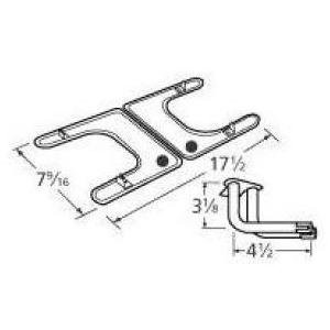 Stainless Steel Burner Replacement for Select Fiesta Gas Grill Models